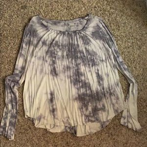 Marbled long sleeve